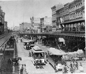 bowery 1900